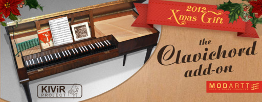 Modartt Neupert Clavichord for Pianoteq