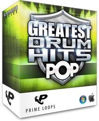Prime Loops Greatest Drum Hits Pop