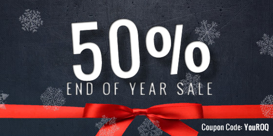 Roqstar Entertainment End Of Year Sale
