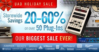 UAD Holiday Sale
