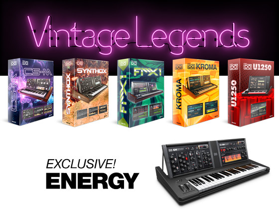 UVI Vintage Legends Iconic Synth Collection