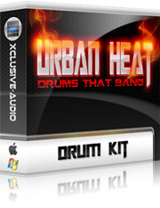 Xclusive-Audio Urban Heat Drum Kit