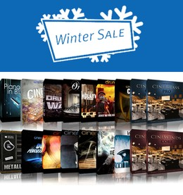 Cinesamples Winter Sale