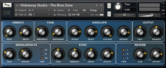 Hideaway Studio The Blue Zone
