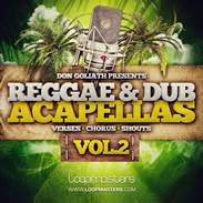 Don Goliath Reggae & Dancehall Acapellas Vol 2
