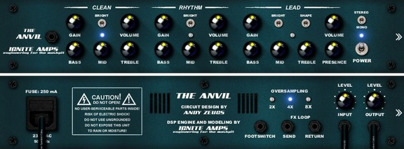 Ignite Amps The Anvil