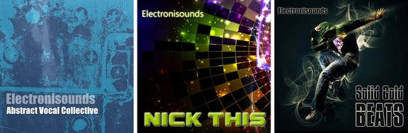 Electronisounds Abstract Vocal Collective, Nick This and Solid Gold Beats