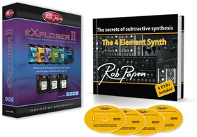 Rob Papen Explorer II / The 4 Element Synth