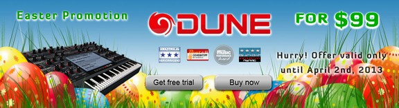 Synapse Audio DUNE Easter Sale