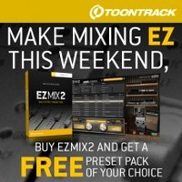 EZmix 2 preset pack deal at Time+Space