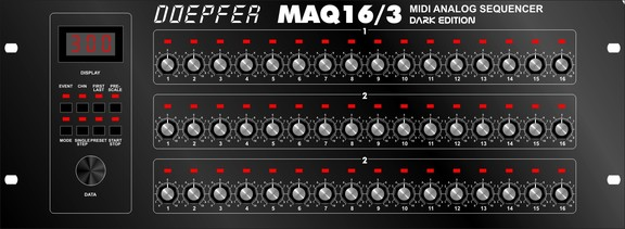 Doepfer MAQ 16/3 Dark Edition