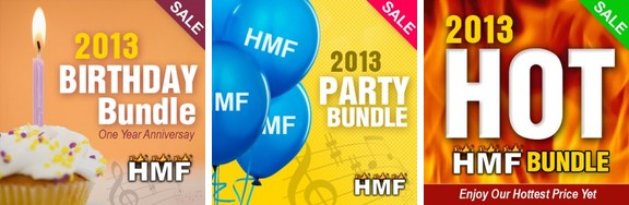 Hot Music Factory Birthday Bundles