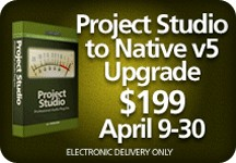 McDSP Project Studio Native 5 Upgrade