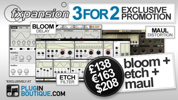 Plugin Boutique Bloom, Maul & Etch bundle