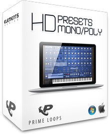 Prime Loops HD Presets for Korg Mono/Poly