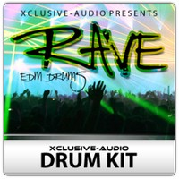 Xclusive-Audio Rave Drum Kit