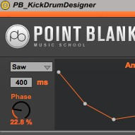 Kick Drum Designer for Max for Live