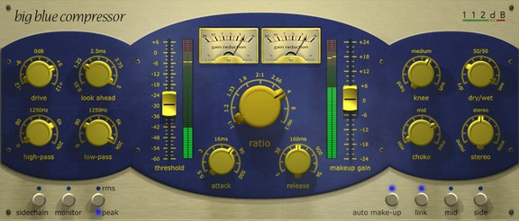 112dB Big Blue Compressor
