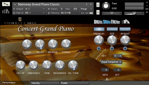 Digital Sound Factory Steinway Grand Piano