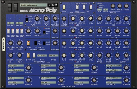 Korg Mono/Poly for Reason