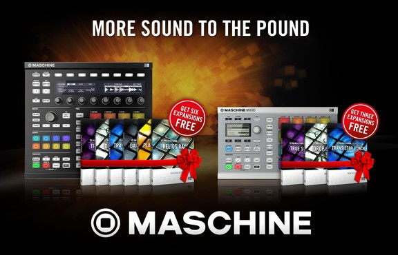 Free Maschine Expansions with Maschine & Maschine Mikro