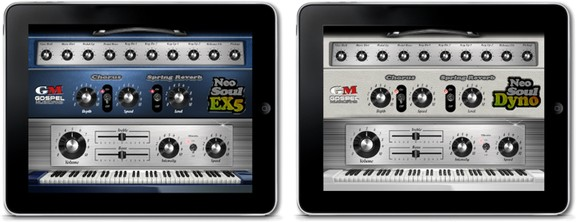 Gospelmusicians EX5 / Dyno for Neo-Soul Keys iPad