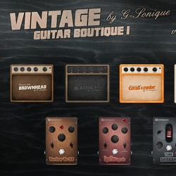 G-Sonique Vintage Guitar Boutique