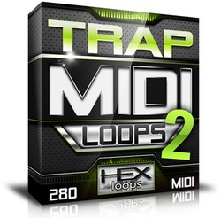 Hex Loops Trap MIDI Loops 2