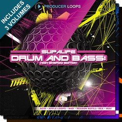 Producer Loops Supalife Drum & Bass Bundle
