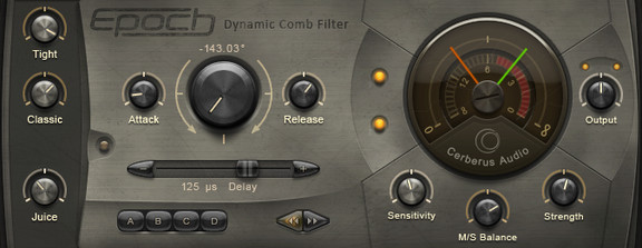 Cerberus Epoch Dynamic Comb Filter