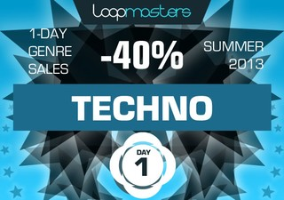 Loopmasters Techno Sale