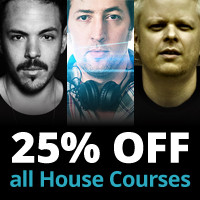 Music-Courses House courses 25% off