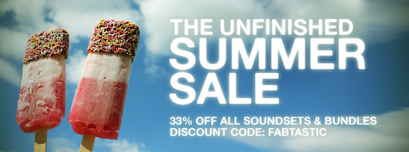 The Unfinished Fab Summer Sale