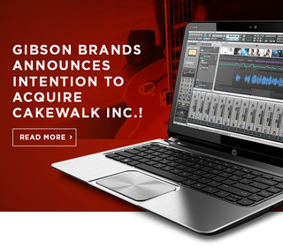 Gibson Brands to acquire Cakewalk