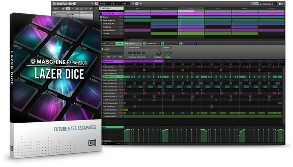 Native Instruments Lazer Dice