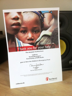 Save the Children Charity diploma 2012