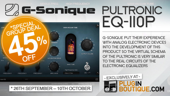 G-Sonique Pultronic EQ-110P Group Buy