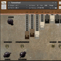 SampleTekk Tonewheel for Kontakt