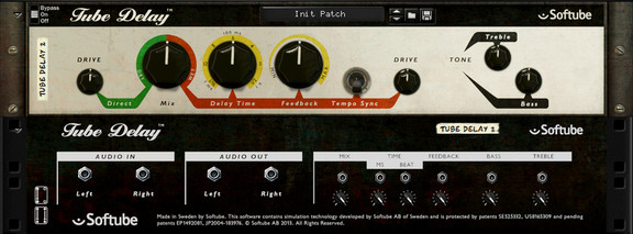 Softube Tube Delay RE