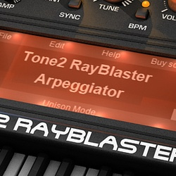 Tone2 Epic Pads for Rayblaster