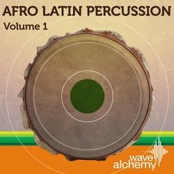 Wave Alchemy Afro-Latin Percussion Vol 1
