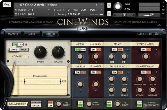 Cinesamples CineWinds