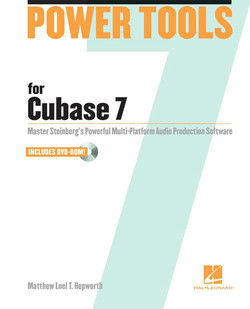 Hal Leonard Power Tools for Cubase 7