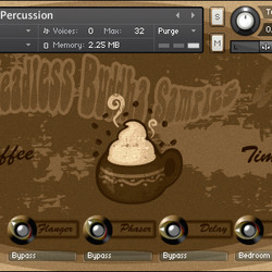 Coffee Cups Percussion for Kontakt