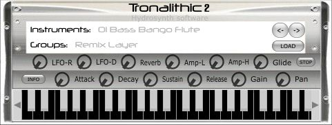 Hydrosynth Tronalithic2