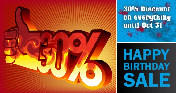 Loopbased Happy Birthday Sale
