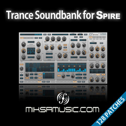 Miksa Music Trance Soundbank for Spire