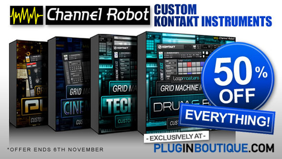 Channel Robot Sale at Plugin Boutique