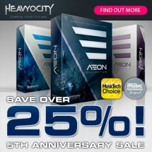 Heavyocity Sale at Time+Space