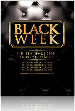 8Dio Black Week Sale